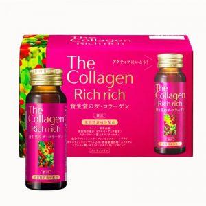 The Collagen Shiseido Rich Rich - dòng collagen mới vừa ra mắt