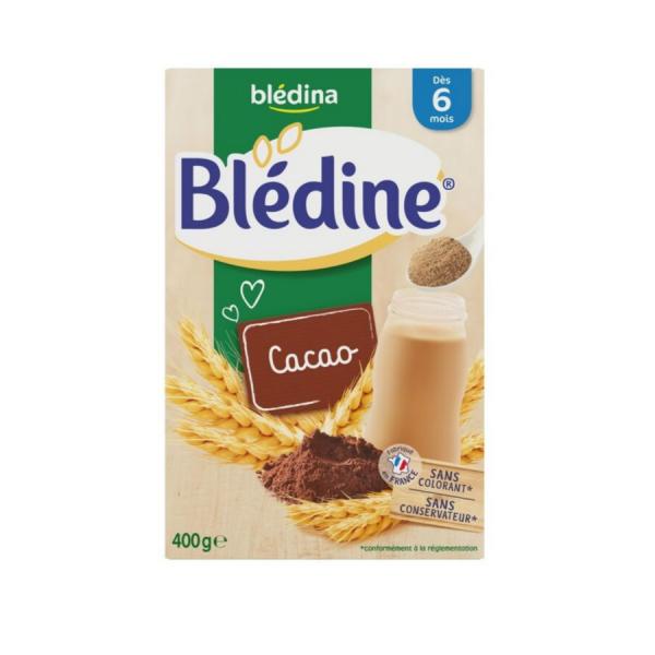 Bột pha sữa Bledine cho trẻ từ 6 tháng tuổi vị Cacao