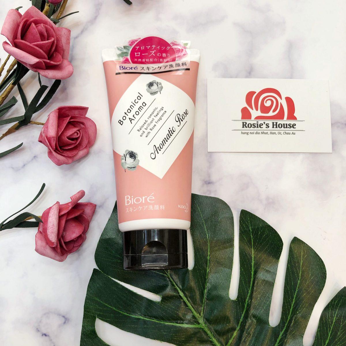 Sữa Rửa Mặt Botanical Aromatic rose
