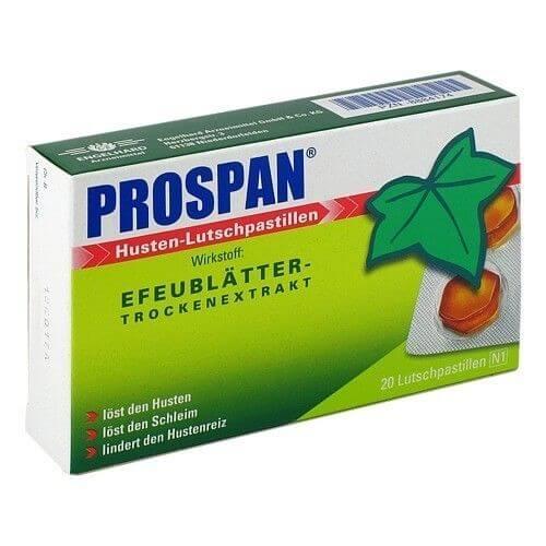 Viên ngậm Prospan nhỏ gọn, dễ bảo quản