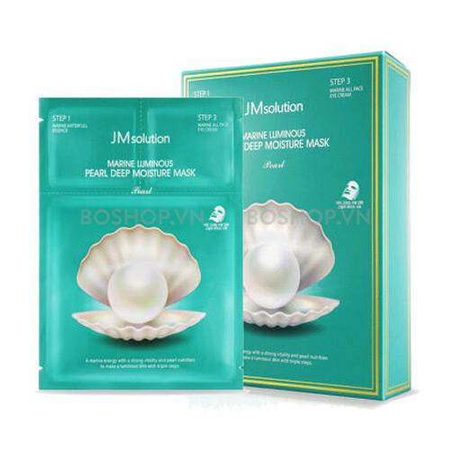 Mặt nạ giấy JM solution Marine Luminous Pearl Deep Moisture