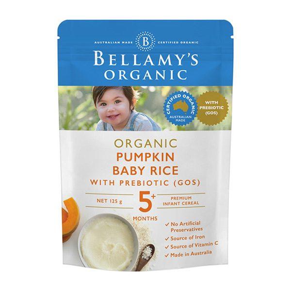 Bột Ăn Dặm Bellamy's Organic 125gr