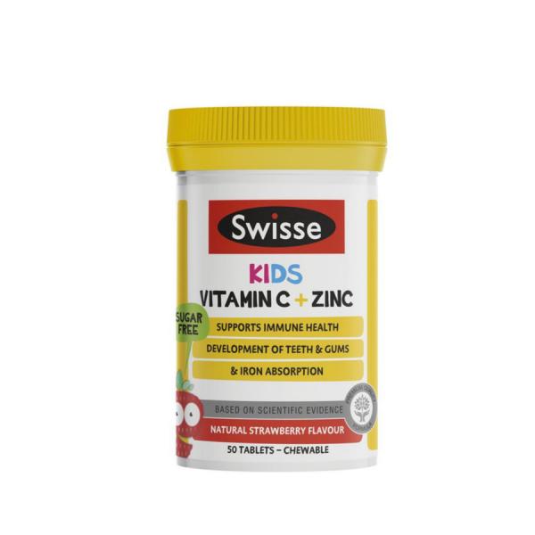 Viên Uống Swisse Kids Vitamin C