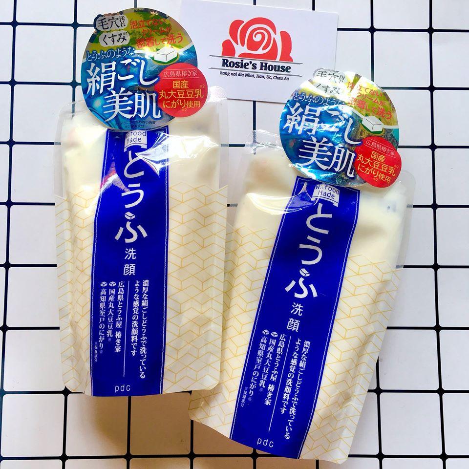 PDC Sake Wafood Made Tofu Wash - kem rửa mặt chiết xuất đậu phụ