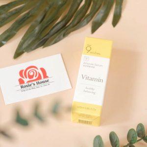 9Wishes Mega Vitamin Ampule Serum - Tinh chất chống lão hóa