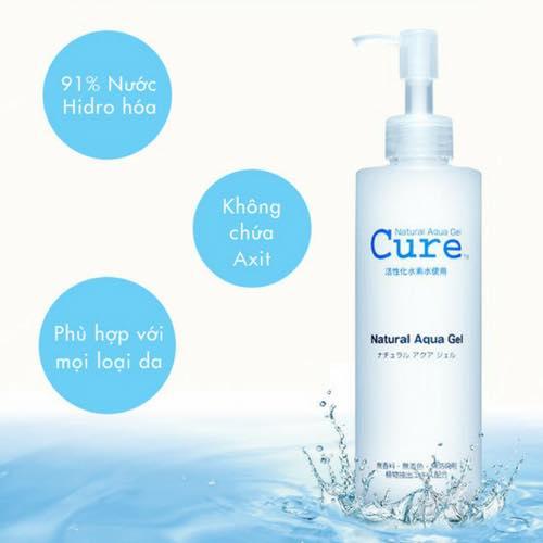 Gel Tẩy Da Chết Cure Natural Aqua Gel